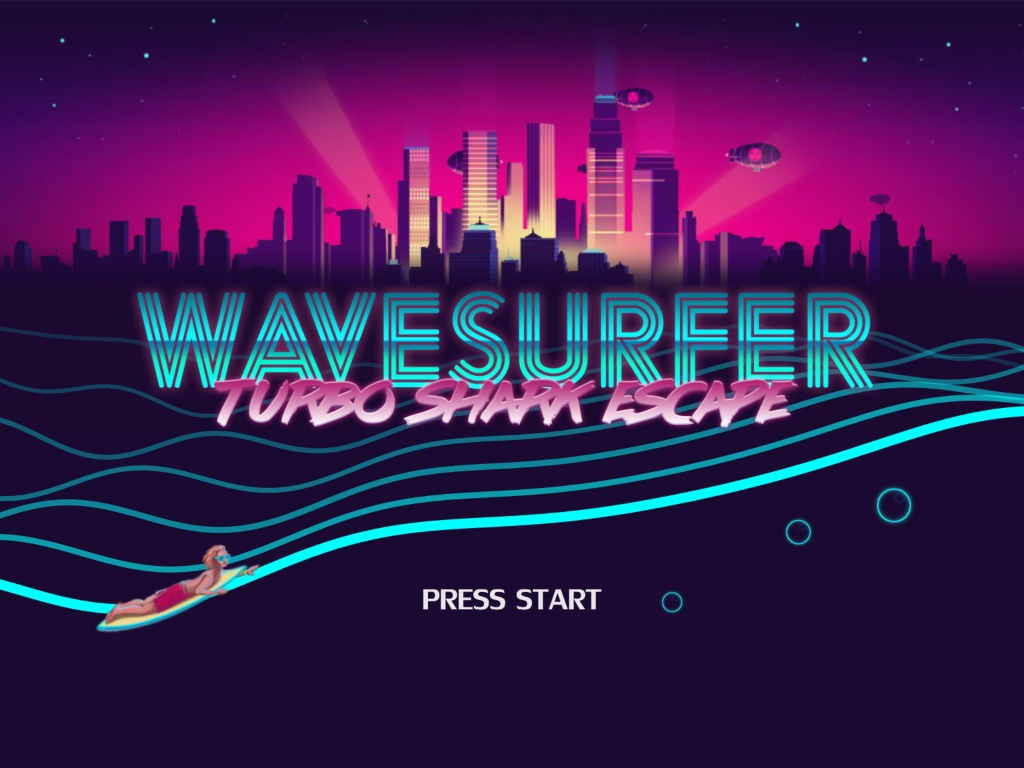 Wave Surfer: Turbo Shark Escape